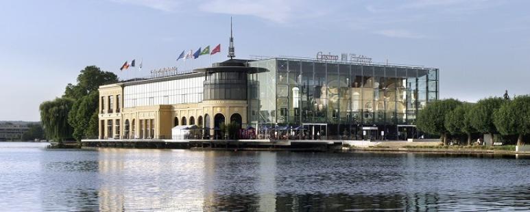 vue du casino Enghien les Bains